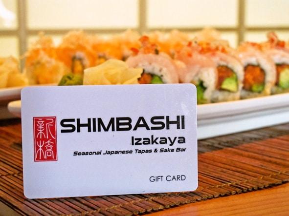 Shimbashi Gift Card